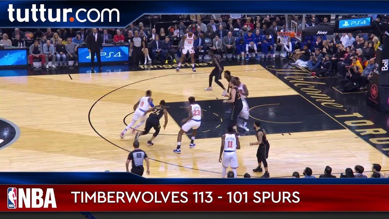Minnesota Timberwolves 113 - 101 San Antonio Spurs
