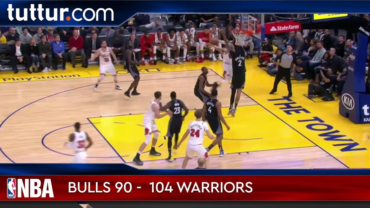 Chicago Bulls 90 - 104 Golden State Warriors