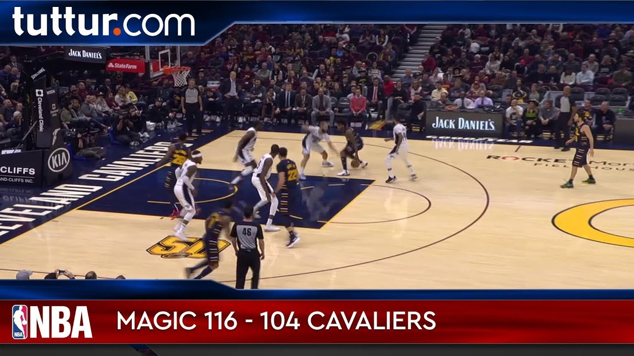 Orlando Magic 116 - 104 Cleveland Cavaliers