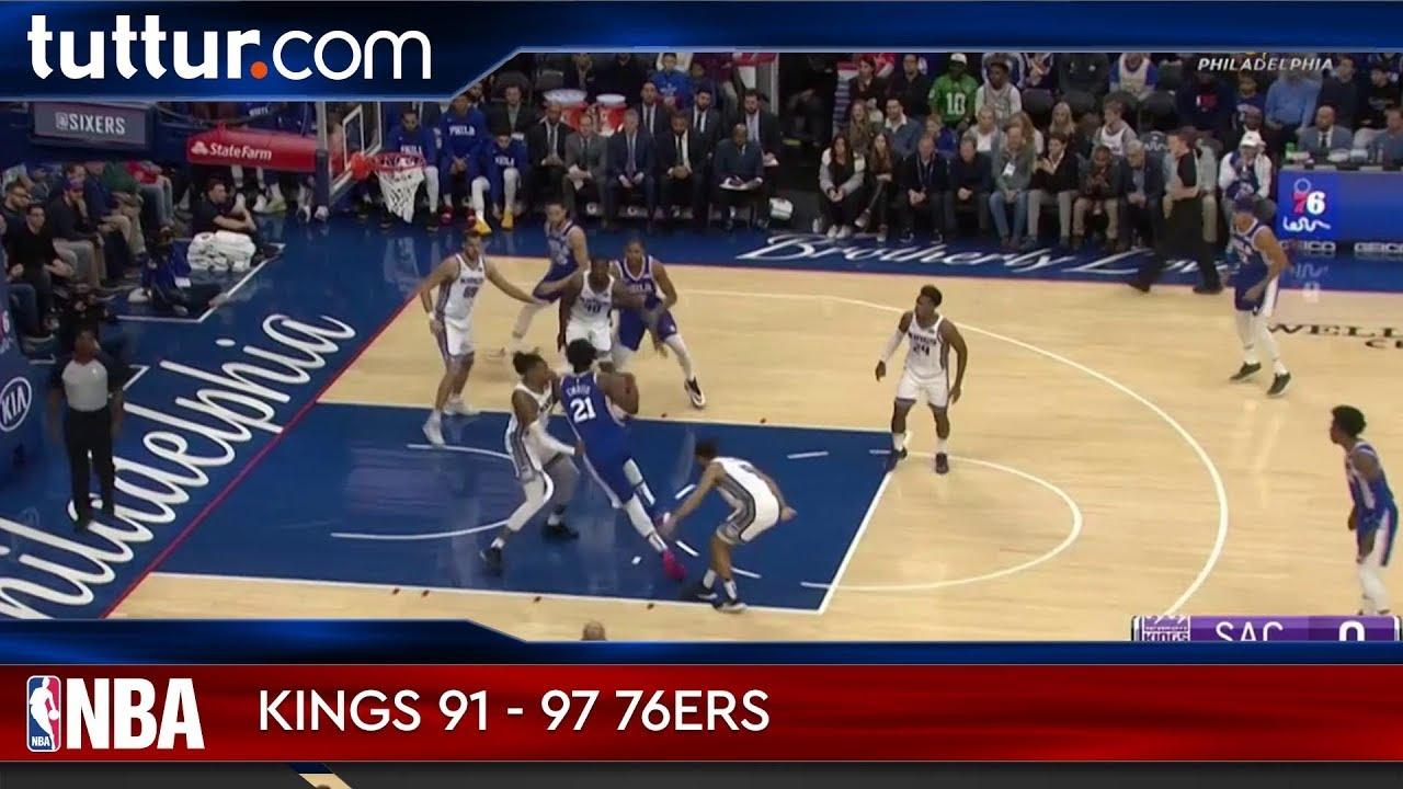 Sacramento Kings 91 - 97 Philadelphia 76ers