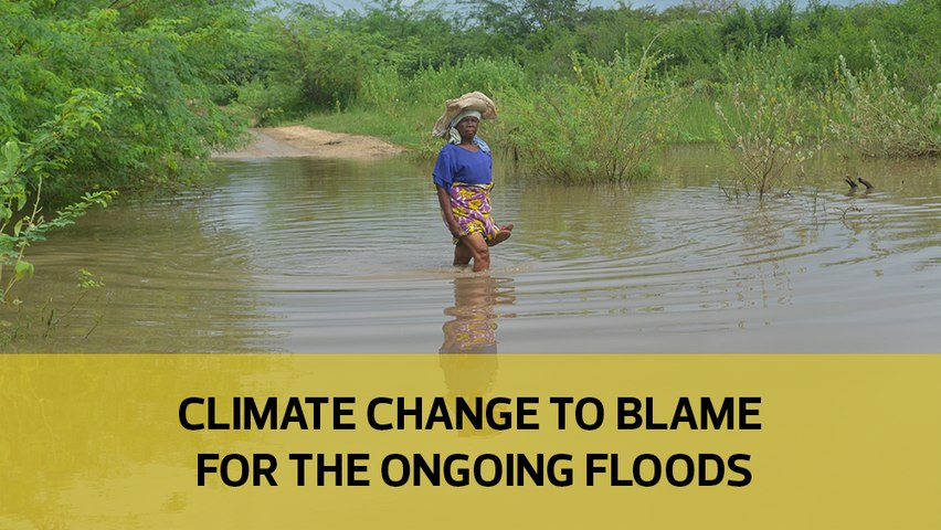 Climate change to blame for the ongoing floods
