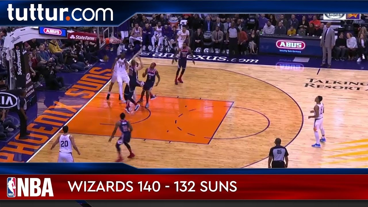 Washington Wizards 140 - 132 Phoenix Suns