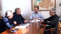 Συνάντηση του Φ. Σερέτη με τον Αντιπεριφερειάρχη Ευρυτανίας και το νέο Διοικητή του Νοσοκομείου Καρπενησίου