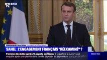 """Emmanuel Macron se dit prêt à """"regarder toutes les options stratégiques"""" concernant l'engagement de la France au Sahel"""