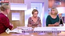 C à vous : le témoignage glaçant de Sandrine Bonnaire, victime de violences conjugales (vidéo)
