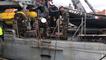 La classe «défense» du lycée des métiers à bord du chasseur de mines «L'Aigle»