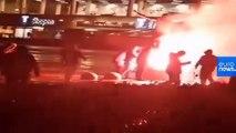 Zlatan Ibrahimovic statue set alight and vandalised by angry Malmö fans