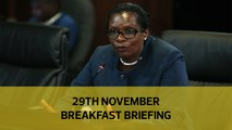 Allowances push up wage bill | Jowie jail x-mas, again | Floods kill 118 people: Your Breakfast Briefing