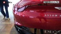 Aston Martin DBX 2020 la Review di Motori Magazine