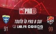 PRO B : Saint-Quentin vs Saint-Chamond (J8)