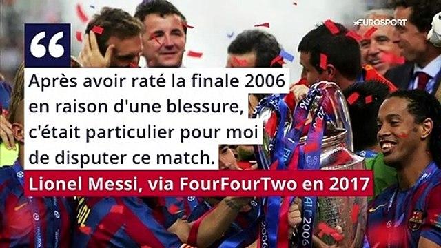 """Un chef d'oeuvre inattendu : voici le """"plus beau but"""" de la carrière de Messi"""