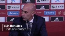 Las versiones de Luis Rubiales, Luis Enrique y Robert Moreno sobre la polémica en el banquillo de la Selección
