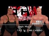 ECW Barely Legal Mod Matches Taz vs Chris Candido