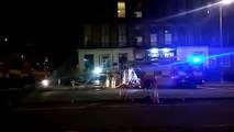 Fire breaks out in Edinburgh's Haddington Place