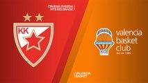 Crvena Zvezda mts Belgrade - Valencia Basket Highlights | EuroLeague, RS Round 11