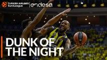 Endesa Dunk of the Night: Derrick Williams, Fenerbahce Beko Istanbul