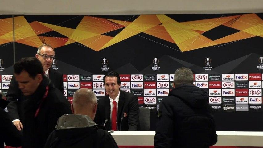 I Don't Fear The Sack | Unai Emery FULL REACTION | Arsenal 1-2 Frankfurt