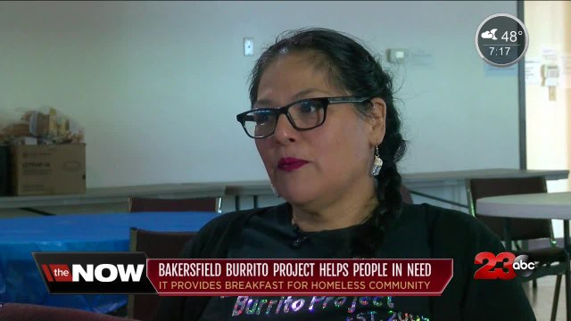 Bakersfield Burrito Project's co-founder faithfully feeding homeless community after husband's death
