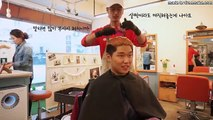 Bleach of curly hair,Permanent straight perm and dyeing(asian hair color )_YoSangHan TV