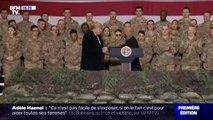 Pour Thanksgiving, Donald Trump a rendu visite aux soldats américains sur la base de Bagram, en Afghanistan