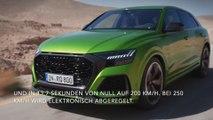 Der neue Audi RS Q8 Maximale Power und hohe Effizienz - der Antrieb