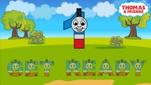 Thomas And Friends ABC Alphabet Song Color Toys For Kids