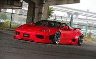 Au volant de sa Ferrari, il évite le pire d'une façon géniale