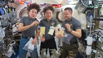 What's Thanksgiving Dinner Like Aboard The ISS?