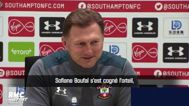Premier League : Boufal heurte une table et se blesse, son entraîneur s'en amuse