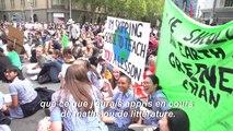 Australie: manifestation contre le réchauffement climatique à Melbourne