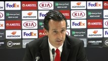 Final words of Unai Emery