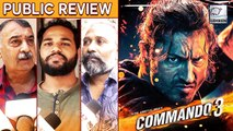 Commando 3 PUBLIC REVIEW | Vidyut Jammwal | Adah Sharma