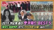 BTS부터 설리까지, 2019 가요계 결산 핫키워드 BEST 5