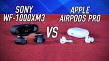 AirPods Pro VS Sony WF-1000XM3 : lesquels acheter ?