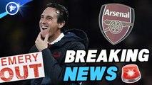 Officiel : Unai Emery débarqué par Arsenal