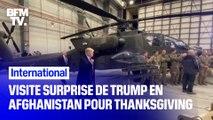 Visite surprise de Donald Trump en Afghanistan pour Thanksgiving