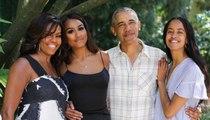 تغيّر كبير في شكل وأسلوب ساشا وماليا اوباما