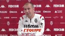 Jardim «Beaucoup de fois, on tue les joueurs» - Foot - L1 - Monaco