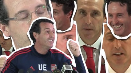 Gud Afternoon Gud Ebening Gud Bye | UNAI EMERY GREETING COMP | Arsenal Sack Manager