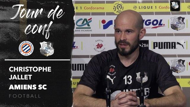 Conférence de presse d'avant Match, Christophe Jallet