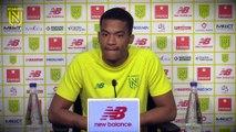 Alban Lafont avant FC Nantes - Toulouse FC