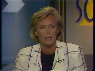 """FR3 - 4 Juin 1987 - Pubs, teasers, """"Soir 3"""" (Jacqueline Alexandre), début """"Montagne"""""""