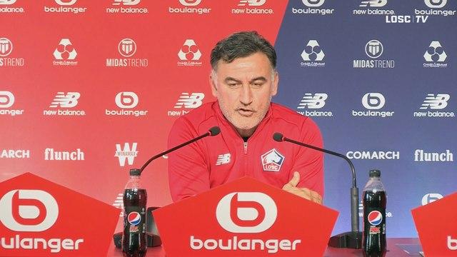 """C. Galtier : """"Réelle envie de l'emporter face à Dijon"""""""