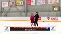 Pre Novice Pattern Dance - RINK A: 2020 Skate Canada Challenge / Défi Patinage Canada 2020 (9)