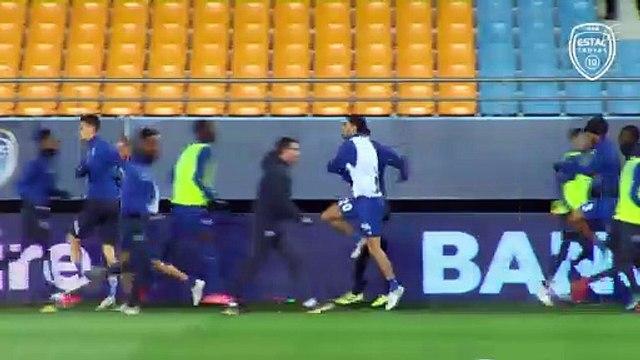 Sochaux-Estac Avant-match avec Laurent Batlles