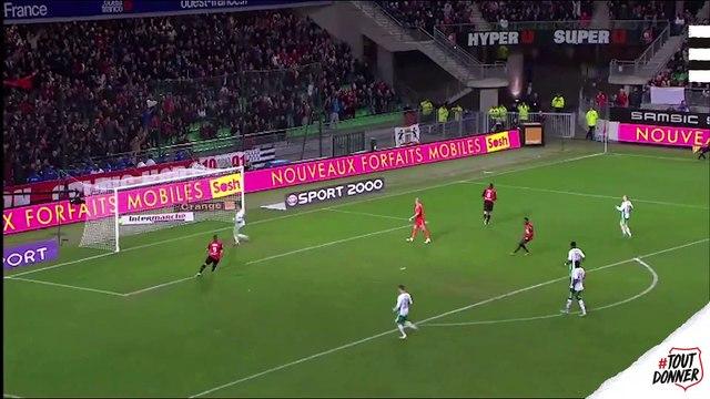 Top buts contre l'AS Saint-Etienne au Roazhon Park