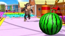 Learn Shapes and Fruits with Funny Monkey in PC Game style