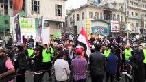 """Bağdat'taki Tahrir Meydanı'ndan """"Güle güle Adil"""" sesleri yükseliyor"""