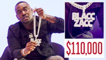 Blacc Zacc Shows Off His Insane Jewelry Collection