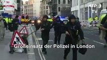 Stichwaffen-Angriff in London: Polizei sieht Terror-Hintergrund